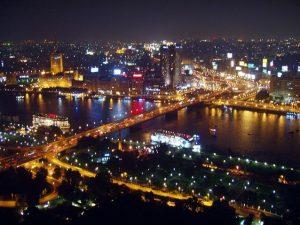 El Cairo de noche