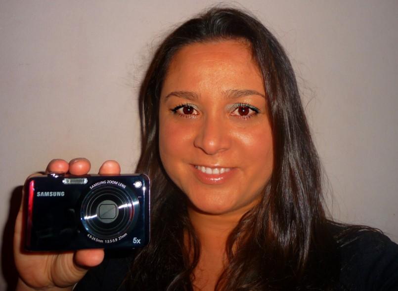 Ganadora cámara digital