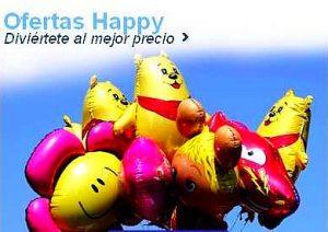 Ofertas Happy Centraldereservas