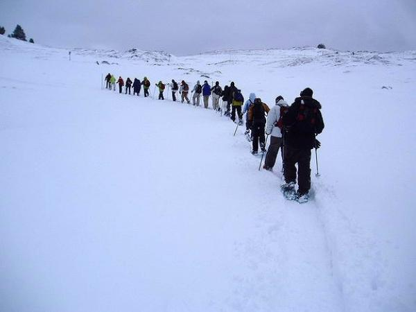 Raquetas de nieve-Andorra
