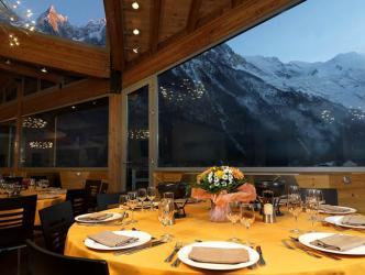 Vista restaurante Hotel Alpina