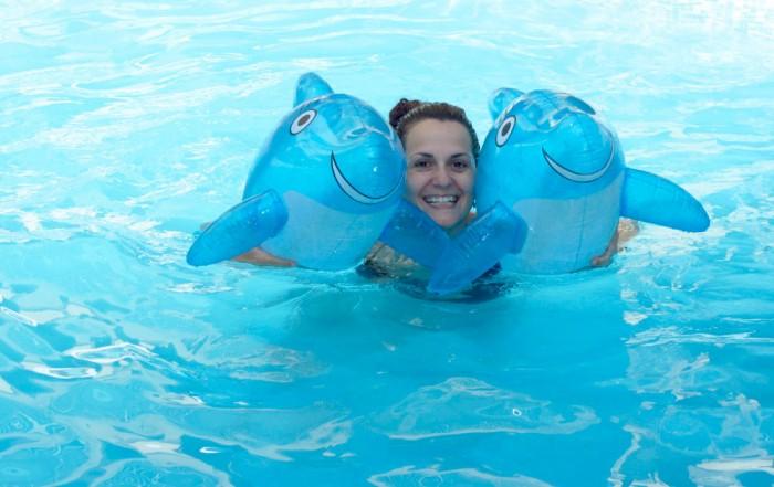 Nadando con delfines en Fuerteventura