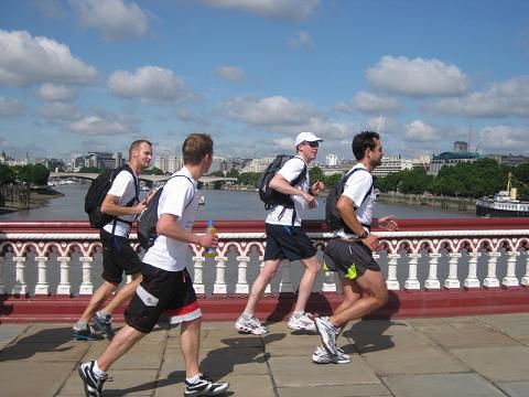 Running Londres