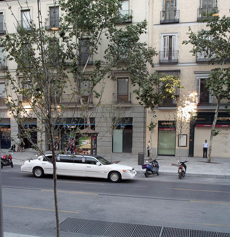 Calle Serrano Madrid