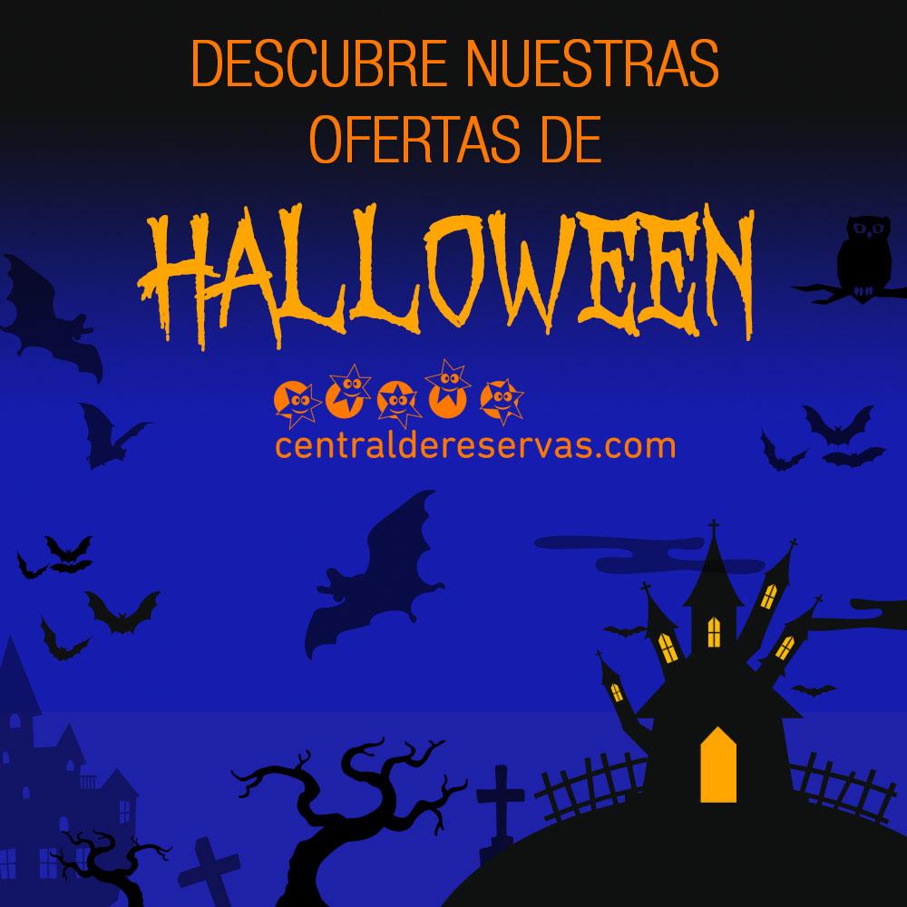 Hoteles de miedo para Halloween en España