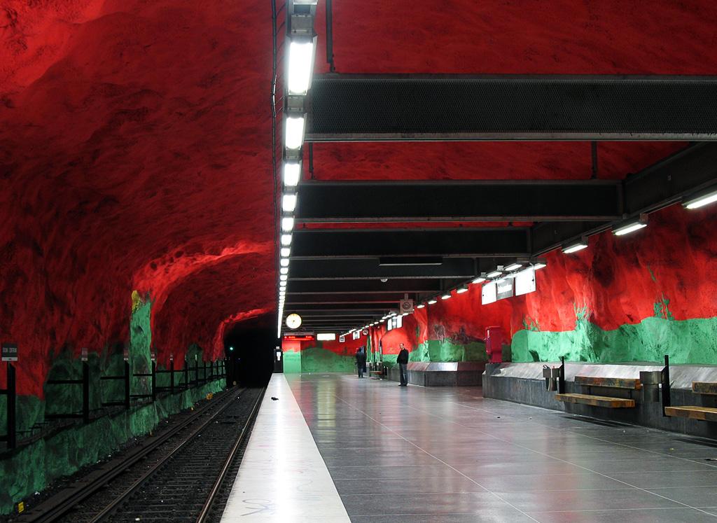 Solna Centro estación