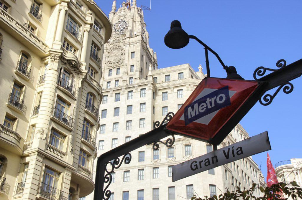 parada de metro