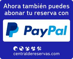 Ahora también puedes abonar tu reserva con PayPal