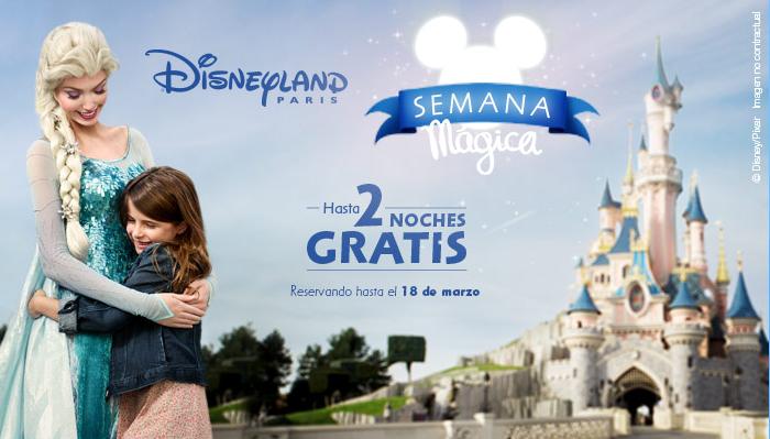Hasta 2 noches gratis para vivir la magia de Disney
