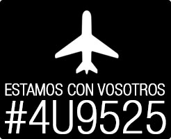 Estamos con vosotros #4U9525