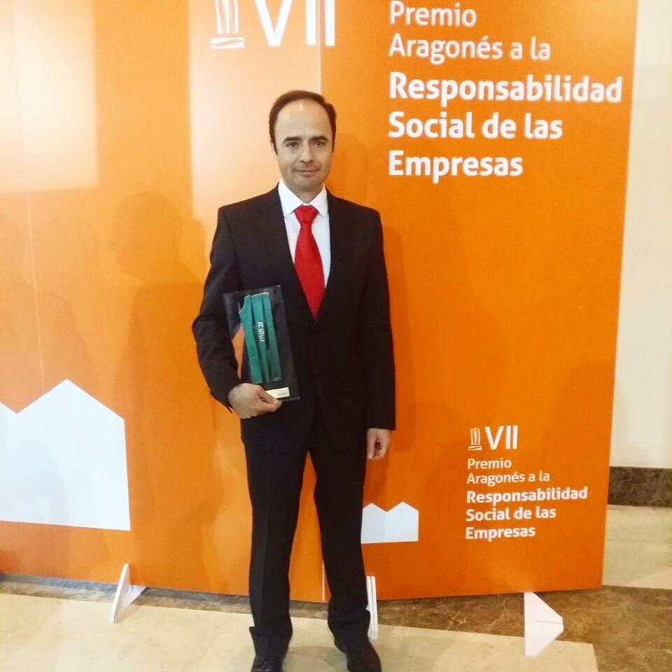 Ricardo recoge Premio RSE Aragon