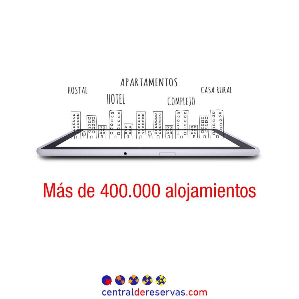400.000 hoteles