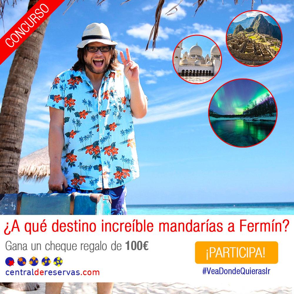 ¿A qué destino mandarías a Fermín este verano?