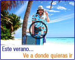 Ve a donde quieras ir con Centraldereservas.com