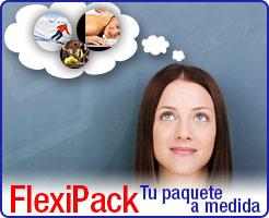 FlexiPack, tu paquete a medida.