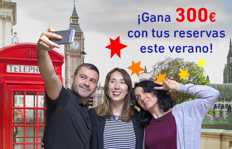 ¡Gana 300 euros este verano con tu reserva!