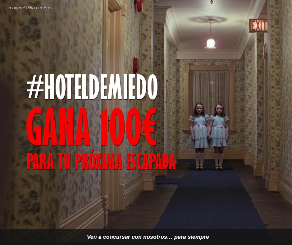Concurso Instagram #hoteldemiedo