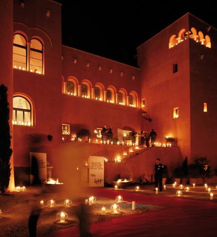 Hoteles castillo en España