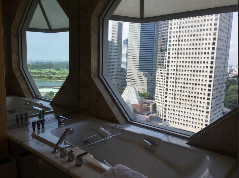 Hotel Ritz Carlton de Singapour