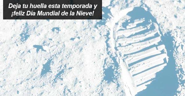 ¡FELIZ DÍA MUNDIAL DE LA NIEVE!