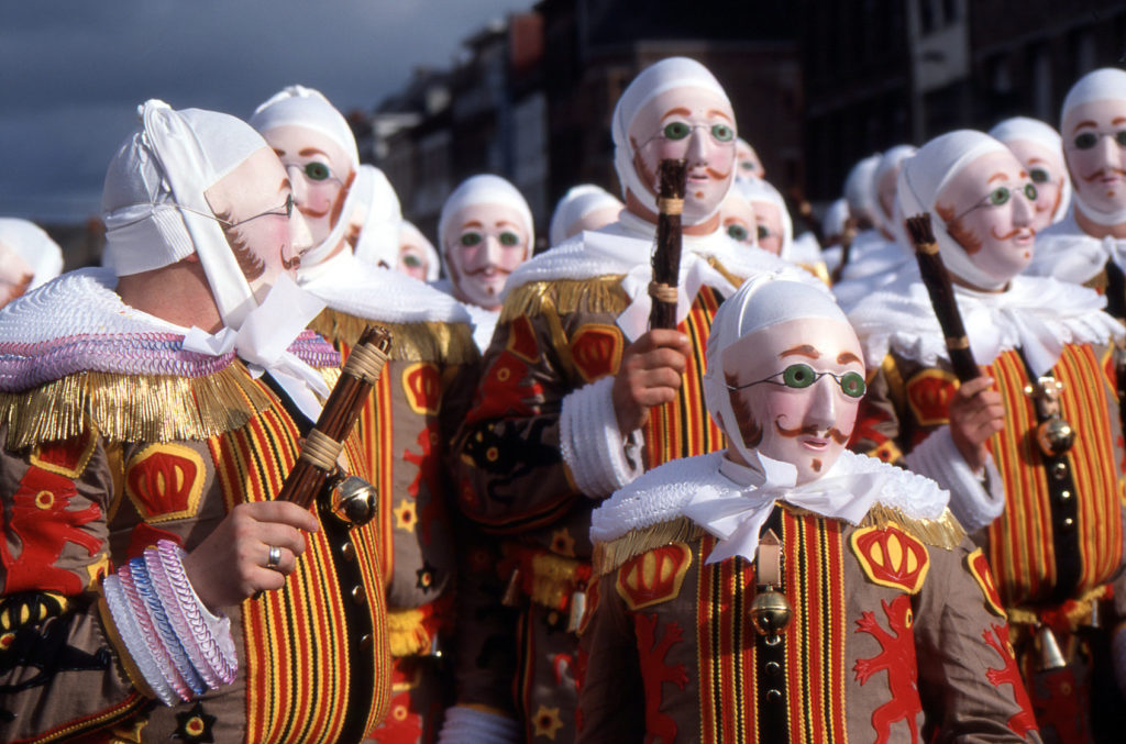 Carnaval de Binche, Bélgica, Europa