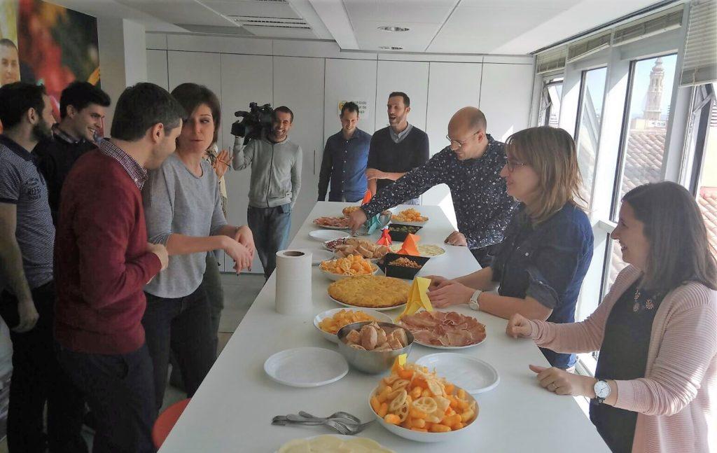 Almuerzo Día de la Diversión en el Trabajo