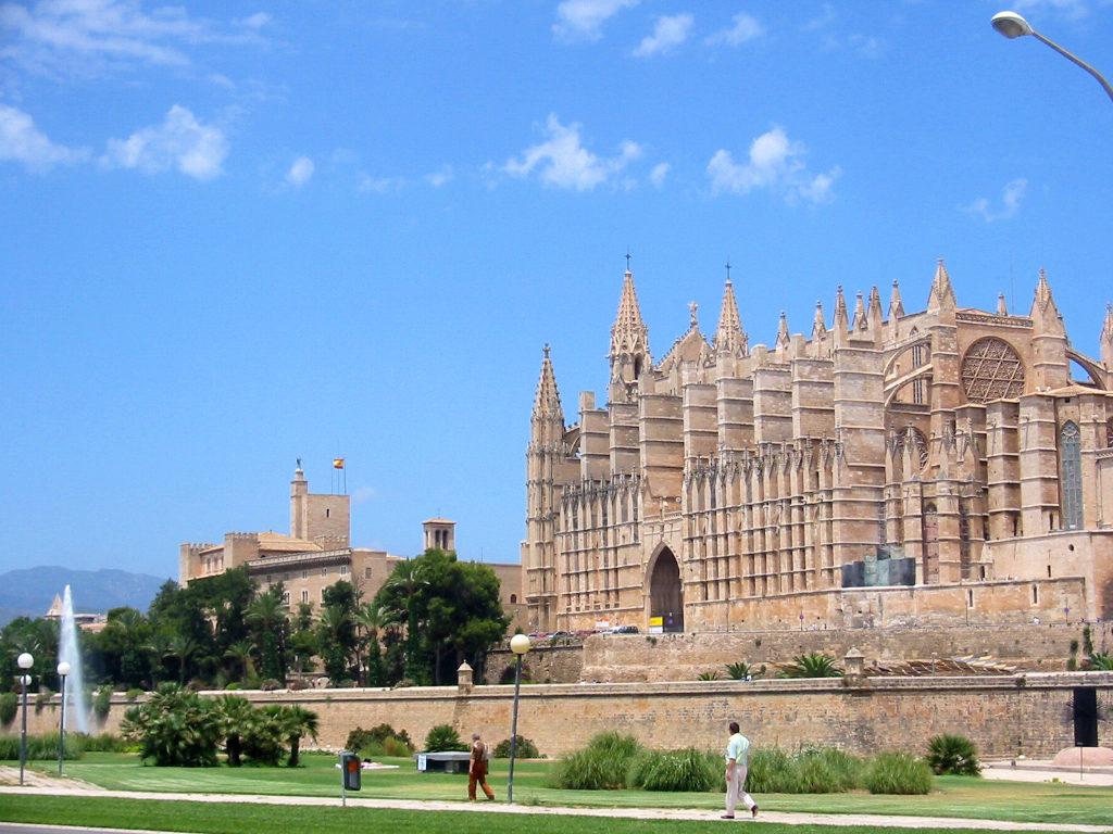 Catedral de Palma de Mallorca, Baleares, España.