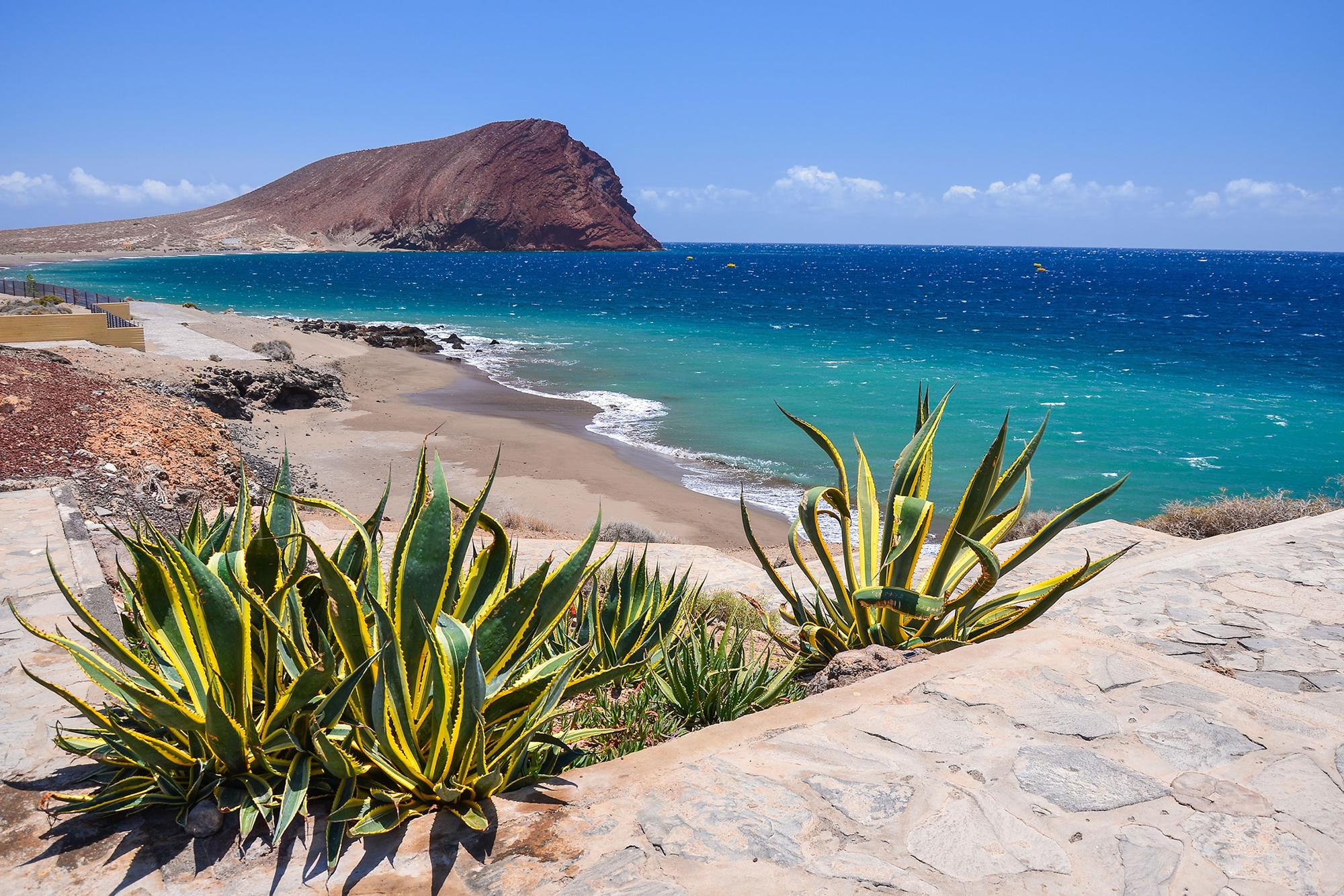 Playa de la Tejita, Tenerife, Canarias