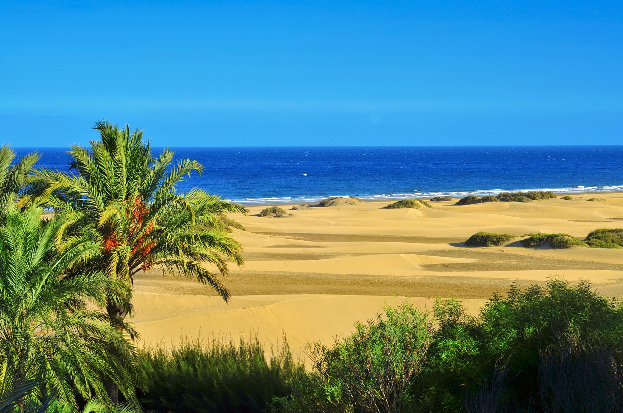 Playa de Maspalomas, Gran Canaria