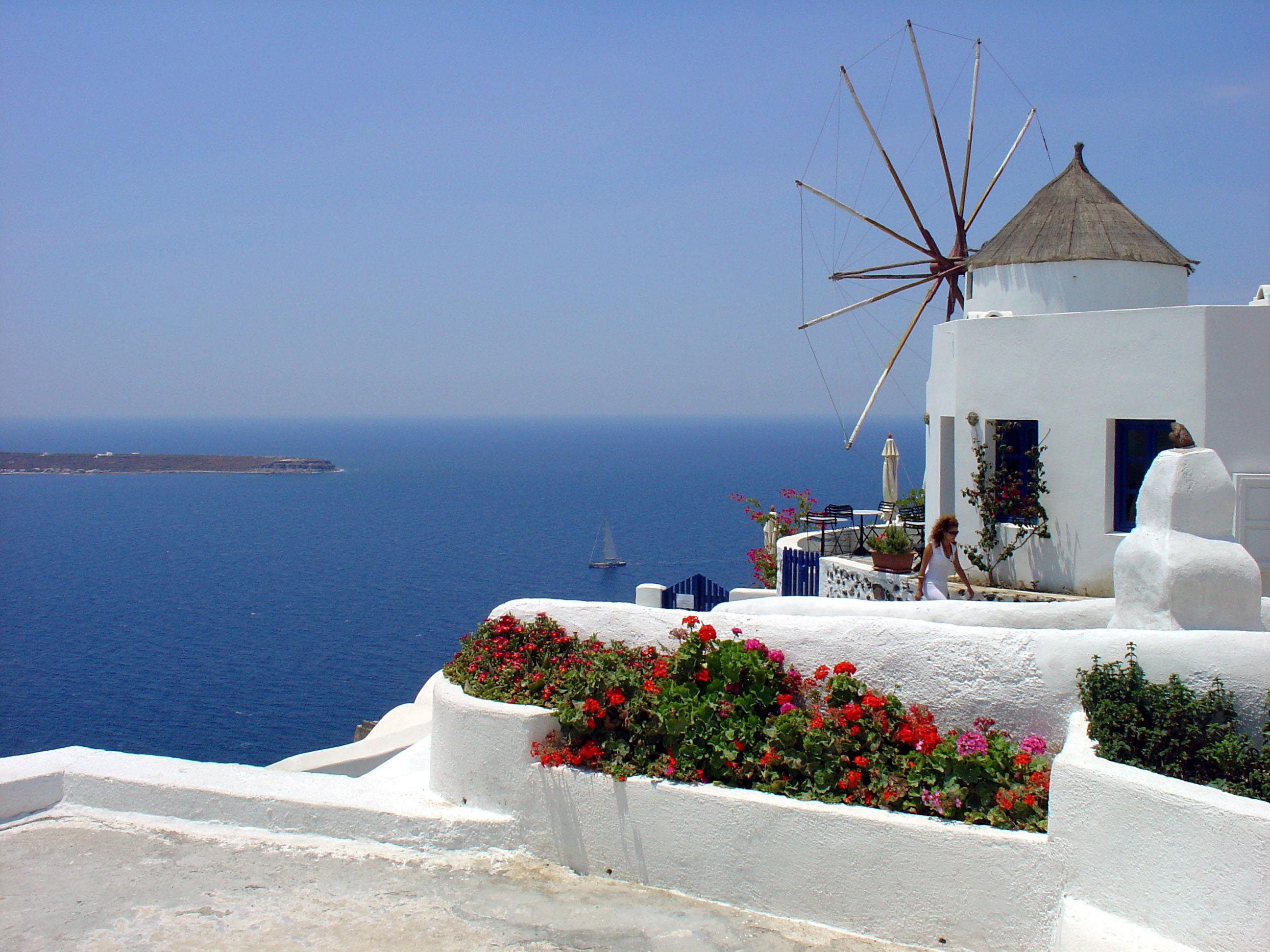 islas griegas, santorini