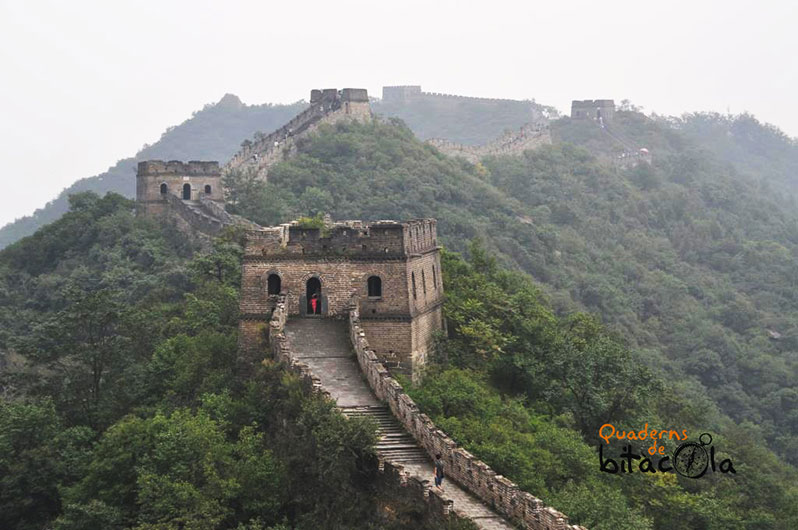 ruta 10 días china. Gran muralla China