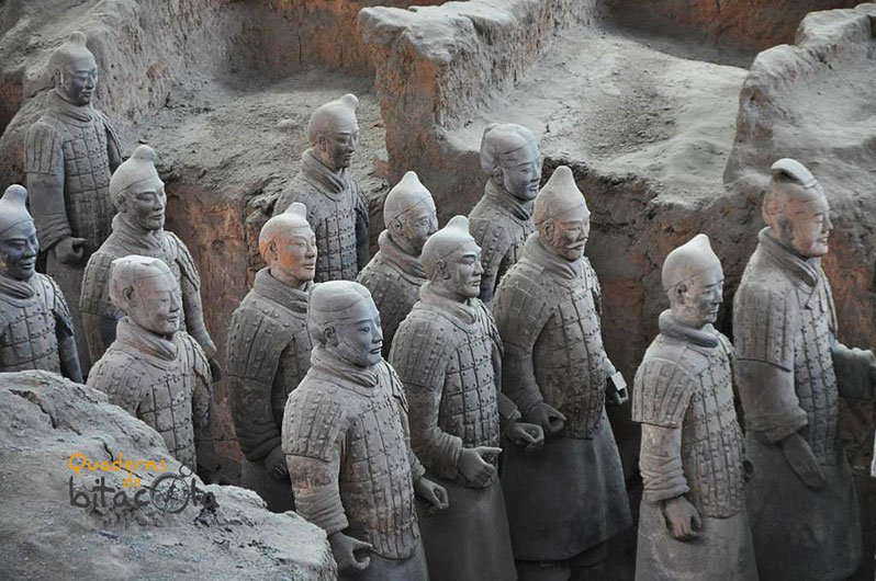 Ruta 10 días china. Guerreros de terracota