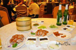 ruta 10 días china. pato pequín
