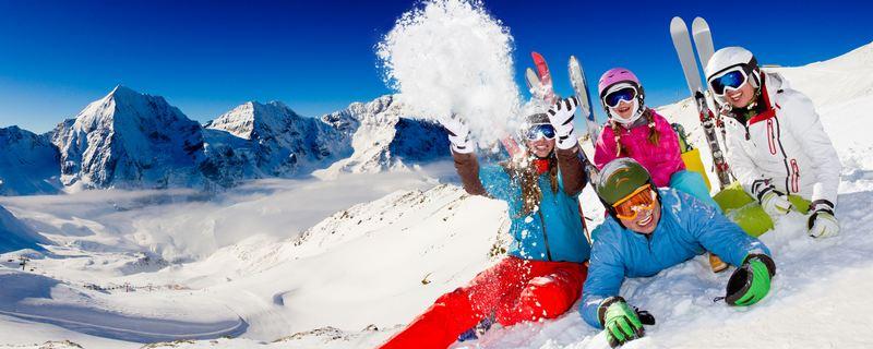Ropa de esquí toda la familia