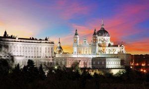 Madrid en diciembre