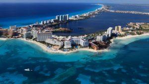 dónde ir de vacaciones en enero Cancún Mexico