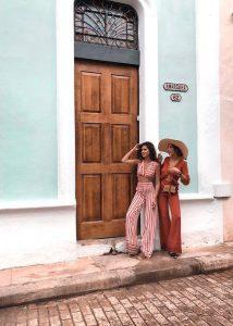 Mery Turiel y Rocío Osorno en Cuba