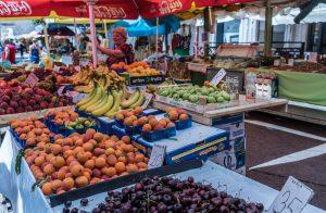 Dubrovnik Croacia mercado