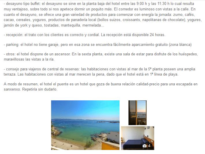 comentario ganador centraldereservas.com