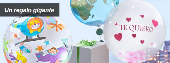 Regalo original globo viajes