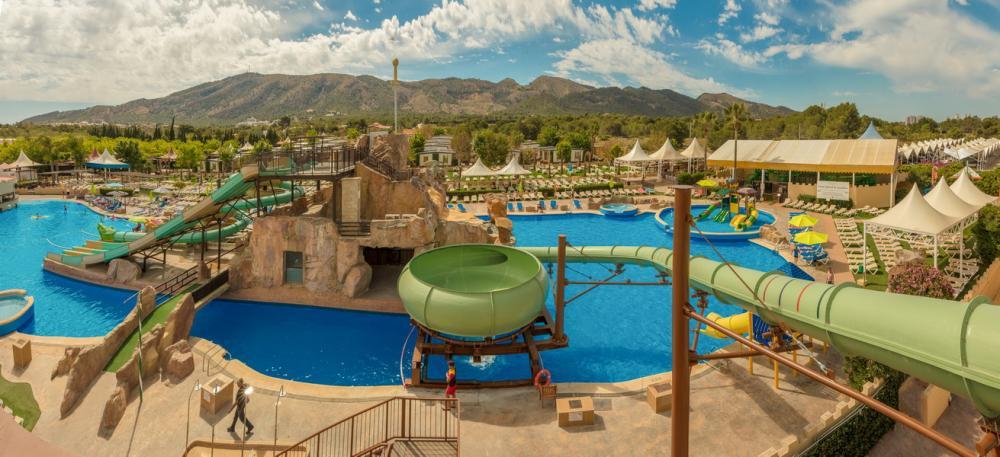 Hoteles con toboganes L´Albir Alicante Robin Hood