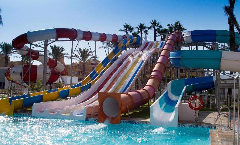 Hoteles con toboganes en Almería. Playasol Aquapark & Spa Hotel (Roquetas de Mar, Almería)