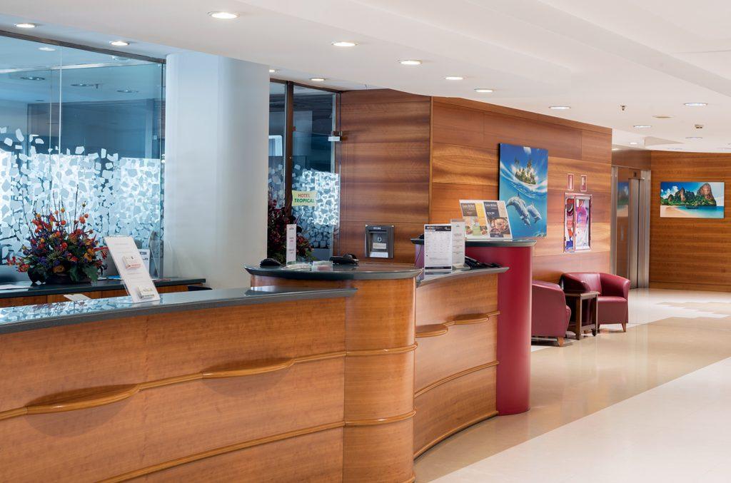 Medidas de seguridad de los hoteles en zonas comunes