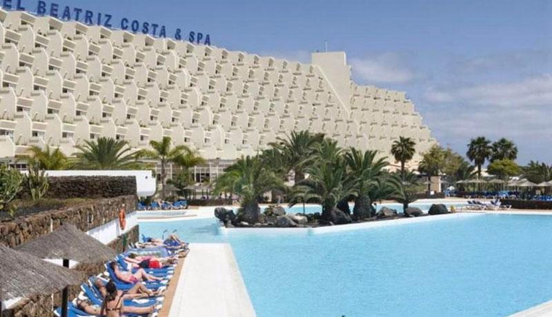 Hotel Beatriz Costa Teguise Spa, Lanzarote.