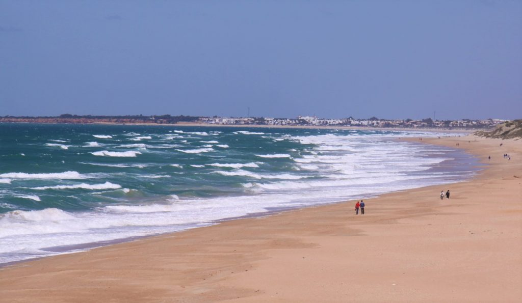 Playa La Barrosa Cádiz. Mejores Playas Andalucía. Playas Bonitas