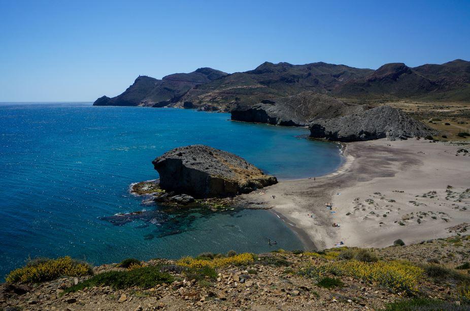 Playa del Mónsul Almería. Mejores playas Andalucía