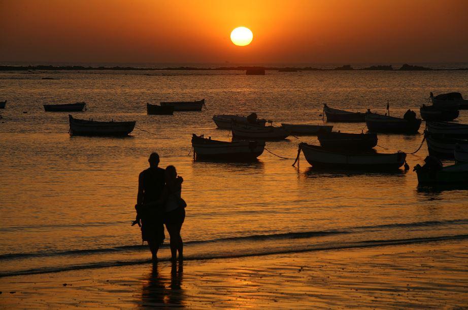 Playa de la Caleta Cádiz. Mejores playas de Andalucía
