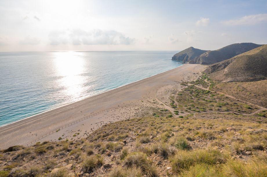 Playa de los Muertos, Almería. Mejores playas de Andalucía